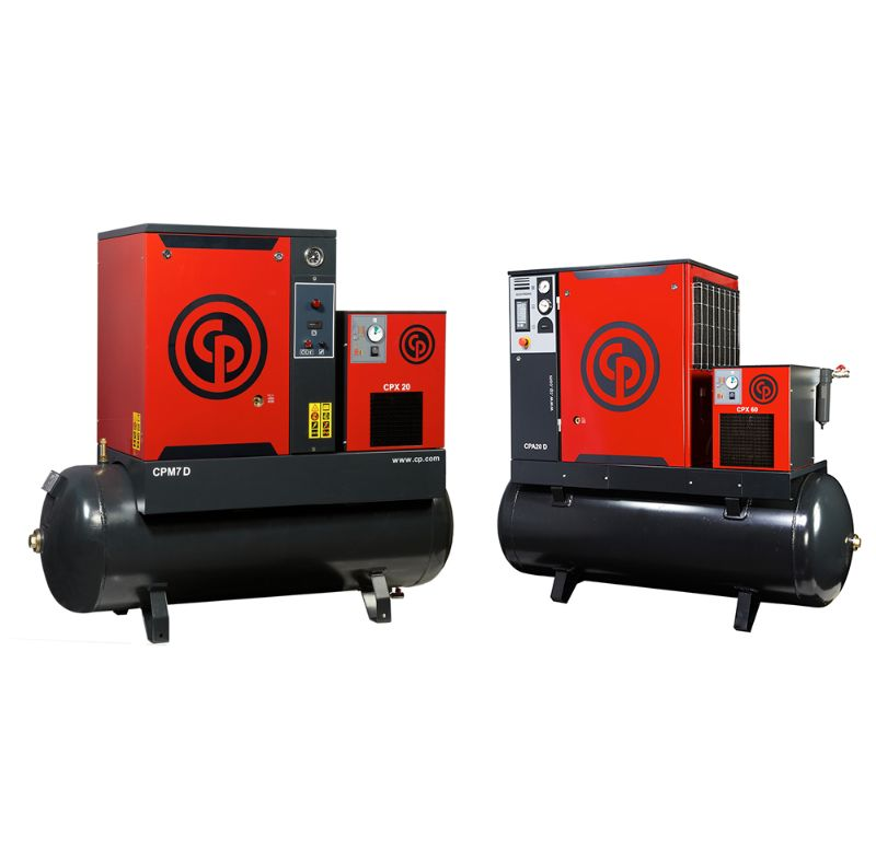 Air Dryer For Air Compressor >> Screw Air Compressors - Chicago Pneumatic