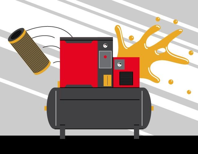 How Much Oil Does My Air Compressor Need? - Chicago Pneumatic